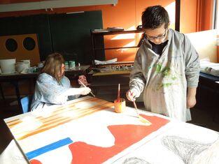 Notre projet artistique avec Gwenaëlle