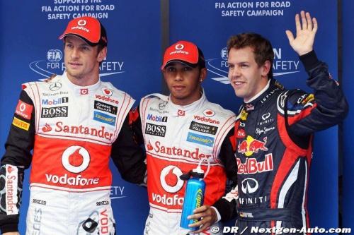 GP Inde - Course : Hamilton 7° Button 2°