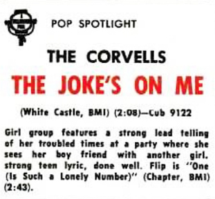 The Corvells (2) aka The Fortunes (4)