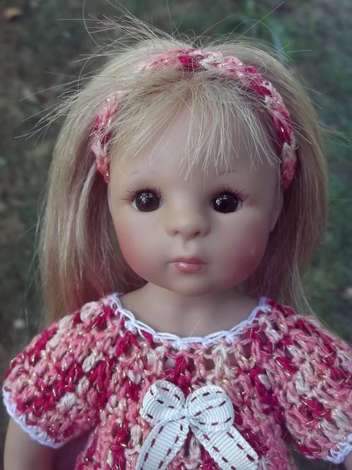 Une tenue d'été pour ma petite Claire