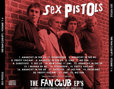 Braderie rock de printemps - jour 1: Sex Pistols - The fan Club EP's