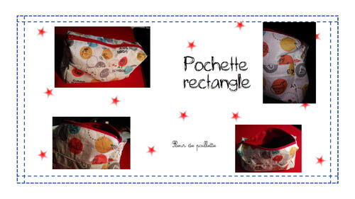 Pochette rectangle