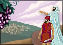 Parachah « Chélah Lékha »