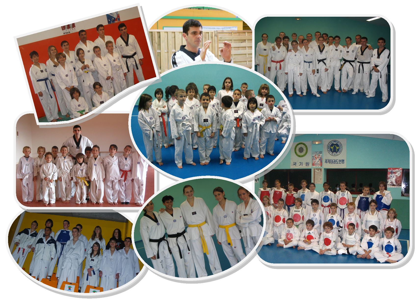 groupe tkd club Hanches/Jouy