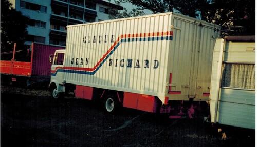 montage du cirque Jean Richard en 1981 : 6ième partie