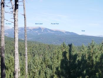 Vers le Nord, les sommets du Capcir