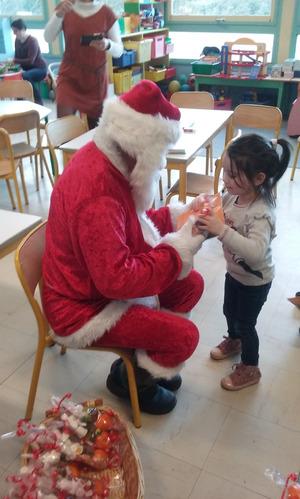 [MS/GS] Visite du Père Noël