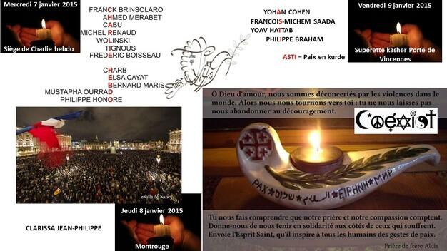 In memoriam et pour la paix