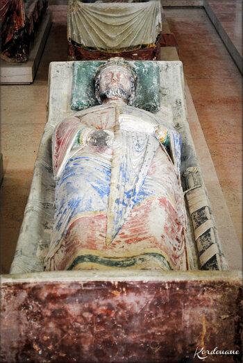 Photo des gisants de l'Abbaye de Fontevraud