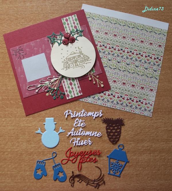 Ronde de cartes de Noël -6