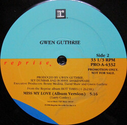 Gwen Guthrie - Miss My Love