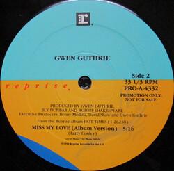 Gwen Guthrie - Miss My Love