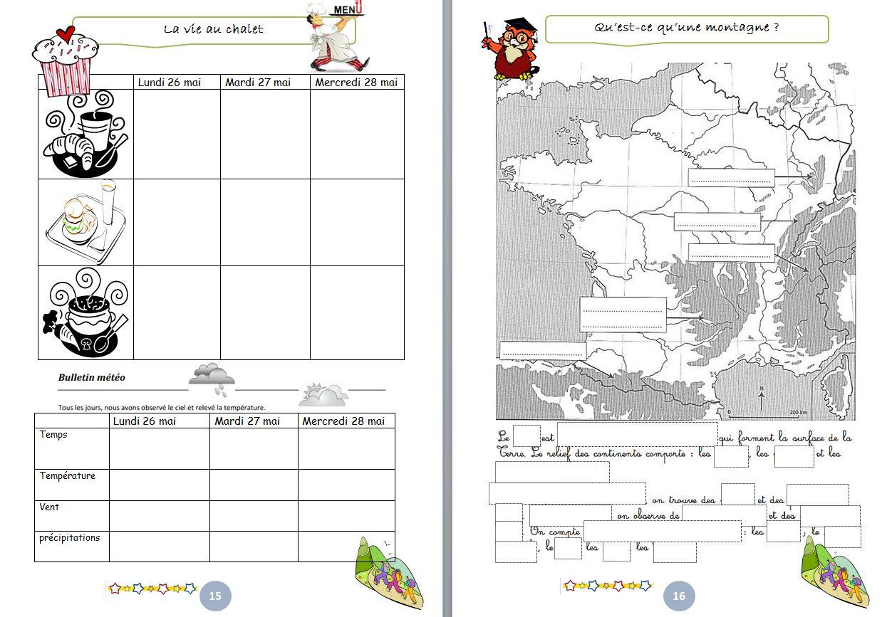 Souvent gestion de classe : carnet de classe découverte - un petit coin de  GF71