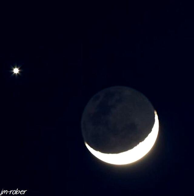 Le beau rapprochement entre Vénus et la Lune ce 2 Décembre