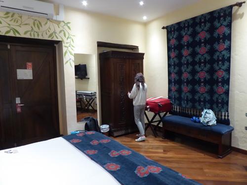 5 ème jour,en route pour rejoindre l'hôtel à Quito