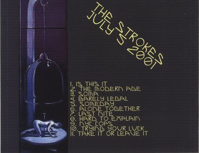 Live: The Strokes - Last Nite in Sweden - Stockholm - 5 juillet 2001