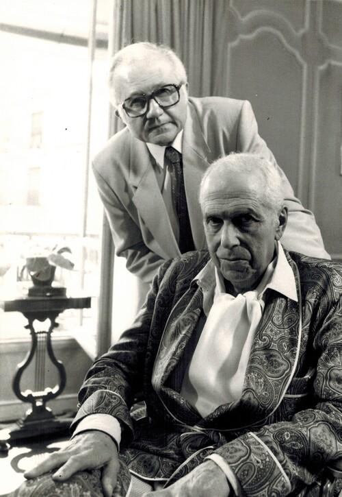 Maigret se défend ( 1984) avec Jean Richard et Robert Manuel