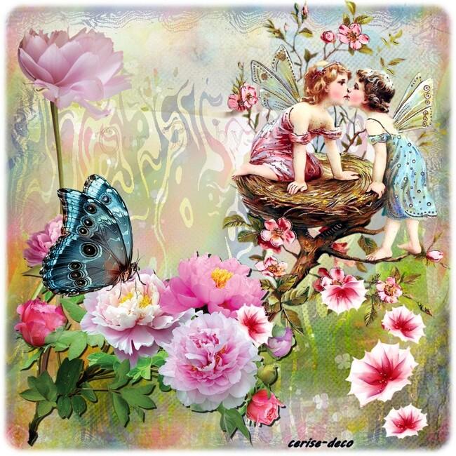cluster grauit :un bouquet de fleur pour toi