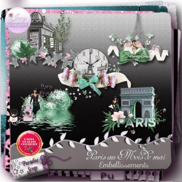 Kit Paris au mois de mai