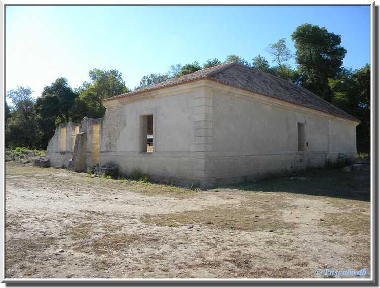 Fort Médoc - Le casernement nord