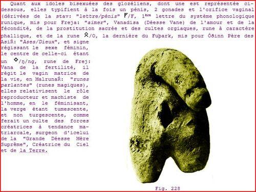 Traduction de la petite tablette de Glozel: