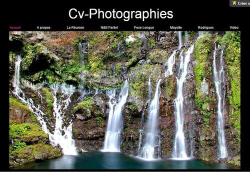 CV-Photographie : une page Facebook et un site internet