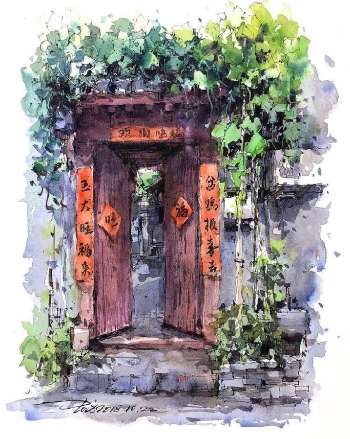 Le Charme des vieilles Villes asiatiques selon  Zhifang Shi (15)