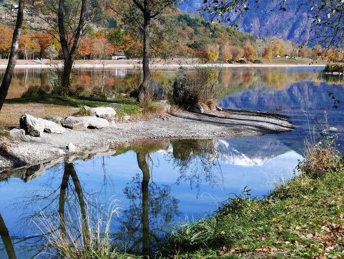 Bonjour..... lac de Passy - pays du Mont Blanc