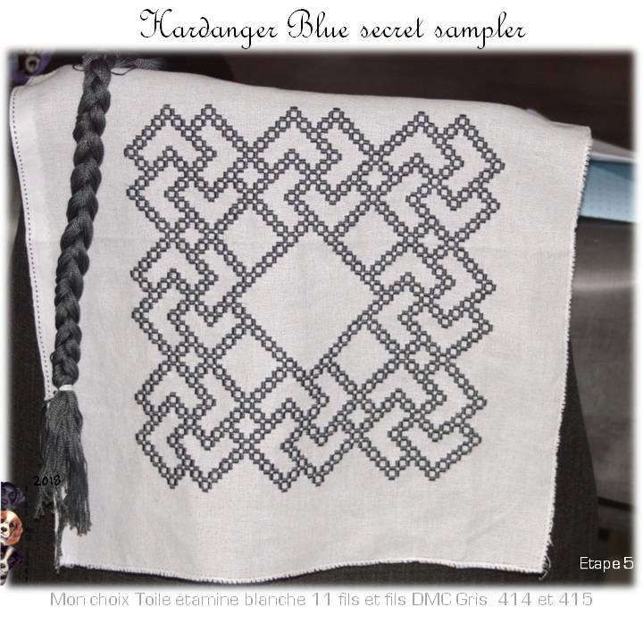 The Blue Secret Hardanger Sampler (6)