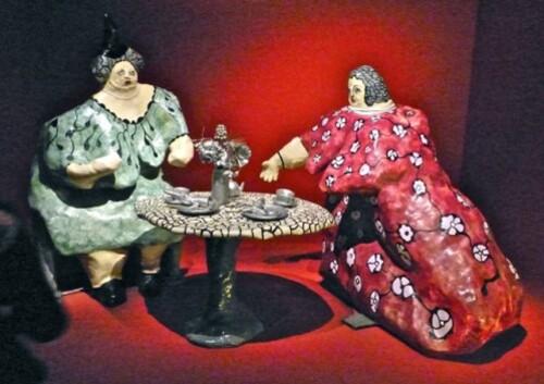 Niki de Saint-Phalle méres dévorantes Thé Angelina 70816