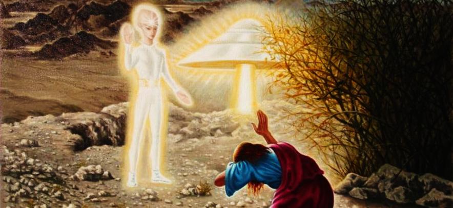 OVNIS DANS LES TEXTES SACRES... Quand les anges venaient du ciel