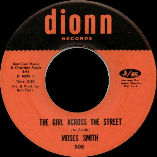 Moses Smith : The Girl Across The Street