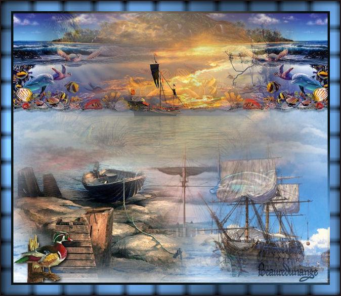 Créas bateaux