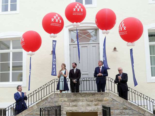 Inauguration du Centre de jeunesse Marienthal