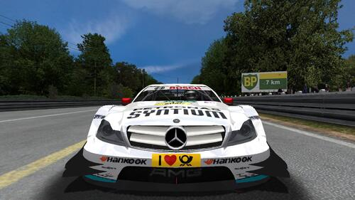 Petronas Mercedes AMG Mercedes C Coupé