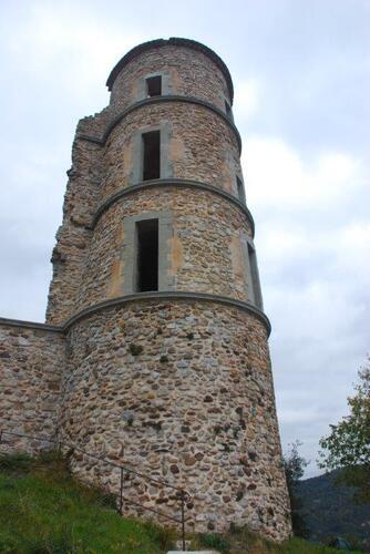 La tour encore bien concervée