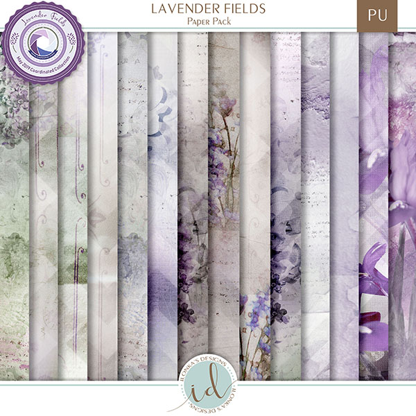 Lavender Fields - release May 10th 2019 at Digital Scrapbooking Studio Id_lav12
