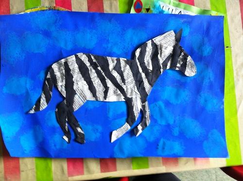 Les zebres en journal des GS