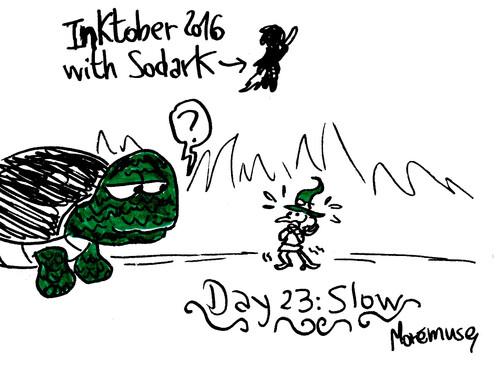 Inktober Sodark semaine 3