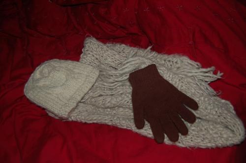 19 décembre - Mon attirail pour vaincre le froid