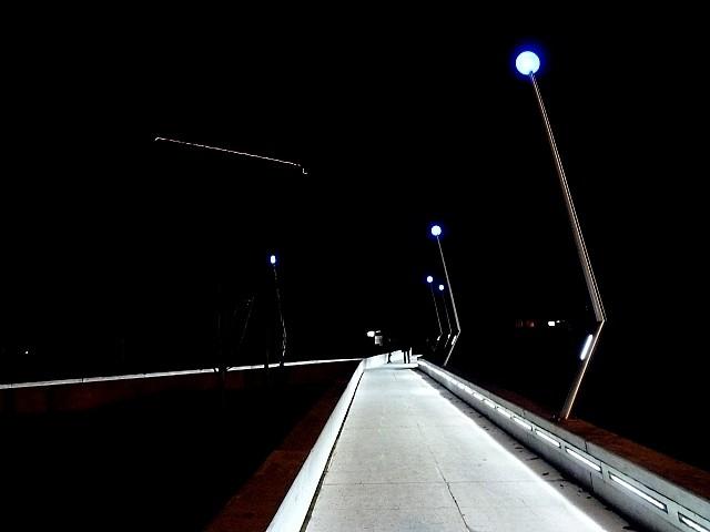 Centre Pompidou-Metz de nuit 1 Marc de Metz 2011