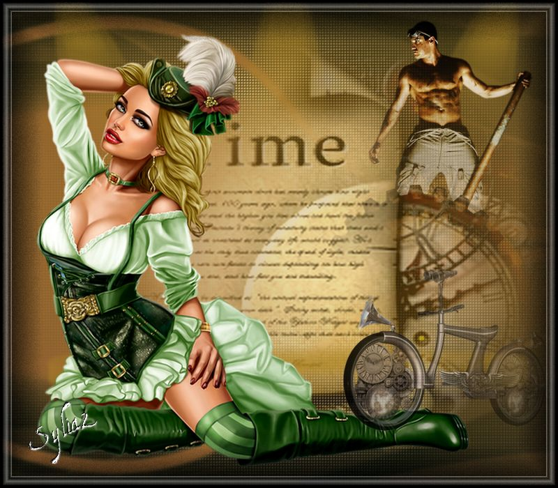 "STEAMPUNK "" TIME"""