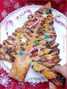 Un goûter trop sympa, d\u0027une simplicité enfantine et super rapide à réaliser  pour les fêtes de Noël ! ^^Si vous êtes réfractaire au Nutella, de  nombreuses