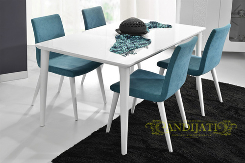 Set Kursi dan Meja Cafe Jati