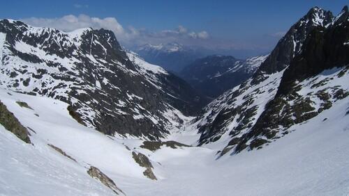 Vallon de Bérard depuis le Col