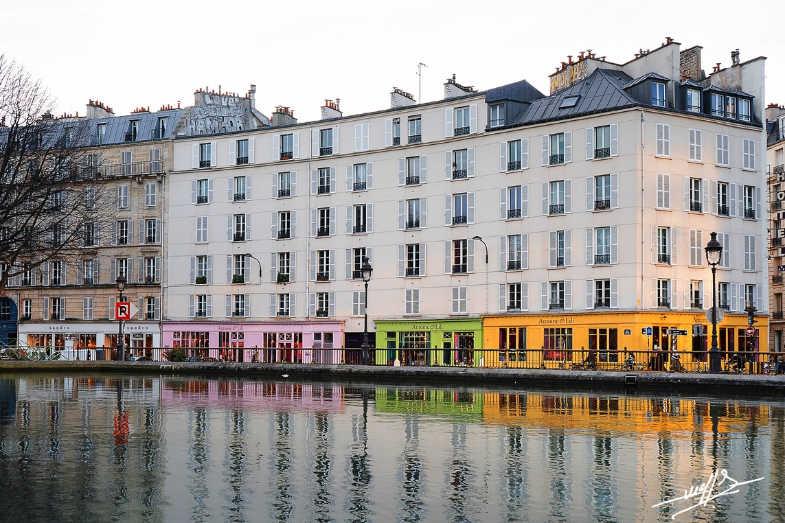 Paris - Canal Saint Martin (2)