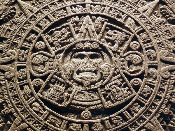 Mexico Musée Pierre du soleil détail 3