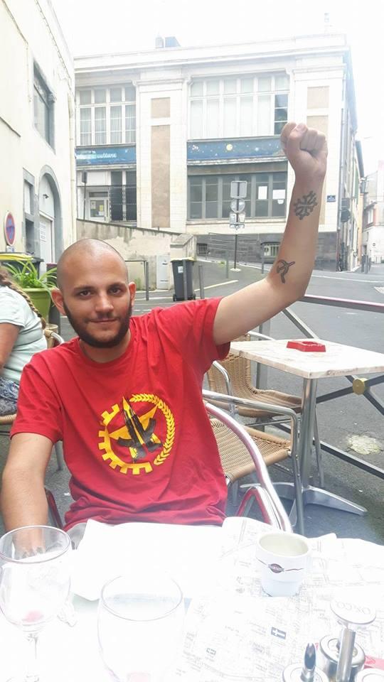 Un militant révolutionnaire occitan (auvergnat) en grève de la faim contre une assignation à résidence de fait