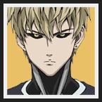 Genos : C'est un cyborg de 19 ans qui autrefois était humain. Il est à la recherche du responsable du meurte de sa famille et de l'erradication de sa ville natale. C'est un personnage très calme et sérieux, qui calcule tout avant d'agir. Témoin de la puissance de Saitama, il décide de devenir son élève.
