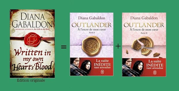 (Outlander) Tome 8 : Written in My Own Heart's Blood
